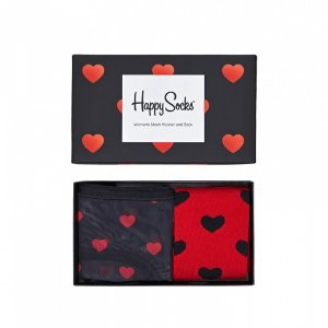 Black & Red Hipster Combo Box: Valentines | Happy Socks