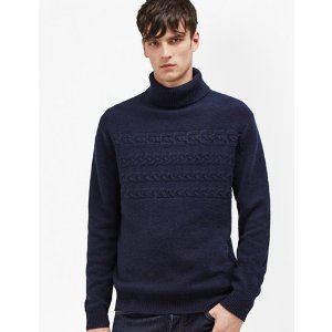 Cable Stripe Knits Jumper | Mens Sale | French Connection Usa