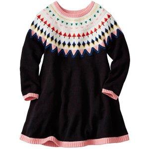 Girls Fairest Isle Sweater Dress | Girls Sale Dresses & Skirts