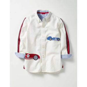Appliqué Oxford Shirt B0076 Tops & T-shirts at Boden