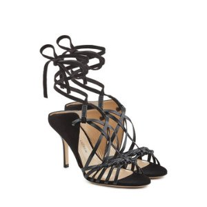 Sandals with Leather and Suede - Paul Andrew | WOMEN | US STYLEBOP.COM