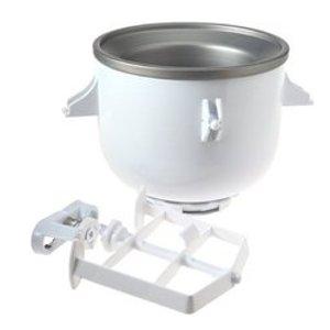 KitchenAid 2-Quart Ice Cream Maker Stand Mixer Attachment (KICA0WH)