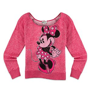 Minnie Mouse Scoop Neck Top for Women - Pink | Disney Store