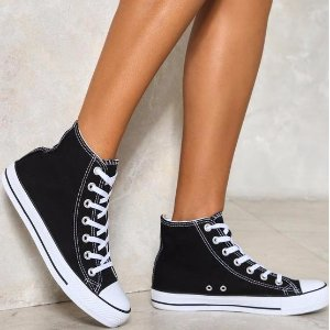 Walk On By High-Top Sneaker | Shop Clothes at Nasty Gal!