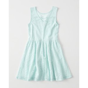 girls Lace Skater Dress | girls 40-60% off select styles | Abercrombie.com