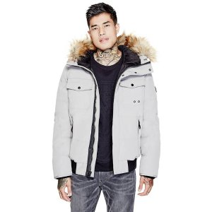 Garth Bomber Jacket | GuessFactory.com