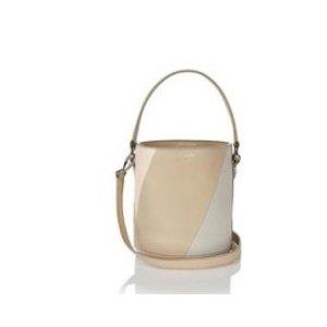 santina mini bucket bag colour-block