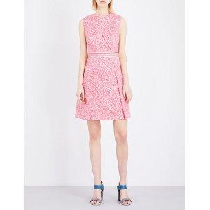TED BAKER - Hoprr jacquard dress
