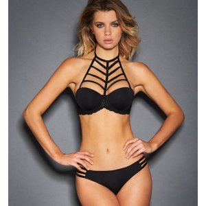 KAYLA PUSH UP BRA WITH REMOVABLE CAGED STRAPS