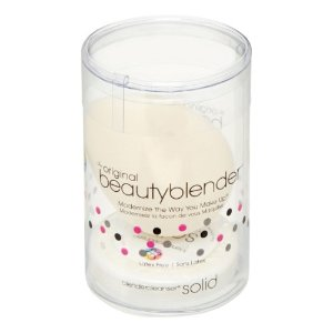 Beauty Blender Makeup Sponge with Mini Cleaner, White