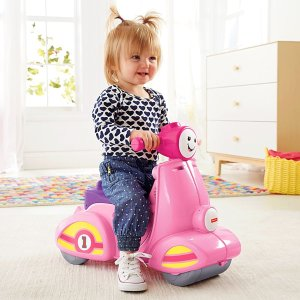 Laugh & Learn Smart Stages Scooter - Pink | DLV18 | Fisher-Price