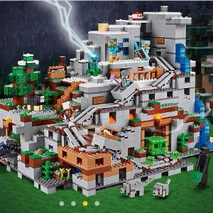 $249.99 + Free Gift New Sets: Minecraft™ The Mountain Cave 21137 @ LEGO