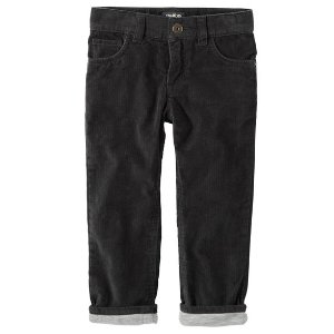 Kid Boy Jersey-Lined Cords | OshKosh.com
