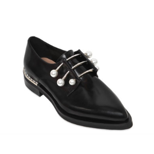 COLIAC - 20MM FERNY PIERCING LEATHER SHOES - LACE-UP SHOES