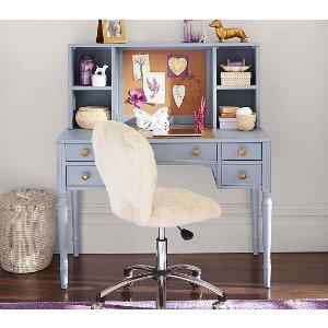 Zoey Storage Desk & Hutch | Pottery Barn Kids