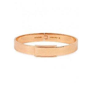 Vita Fede Odessa 24kt rose gold-plated bracelet