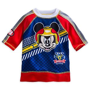 Mickey Mouse Rash Guard for Boys - Mickey and the Roadster Racers | Disney Store