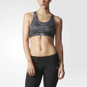 adidas Techfit Heather-Print Bra Women's Black | eBay