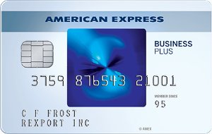Special Offer: Earn 20,000 Membership Rewards® points. Terms Apply The Blue Business℠ Plus Credit Card from American Express