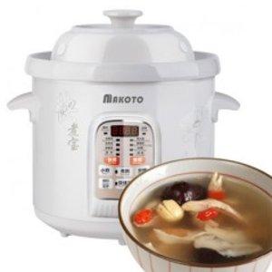 Makoto White Porcelain Electronic Cooker DGD50-50CWD 5L
