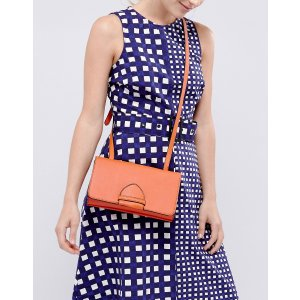 Warehouse Tab Front Cross Body Mini Bag