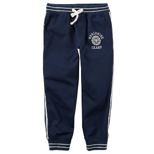 Twill Athletic Joggers