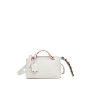 Fendi By The Way Mini Crystal-Croc-Tail Satchel Bag