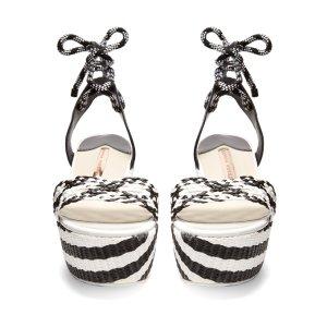 Naomi flatform sandals | Sophia Webster