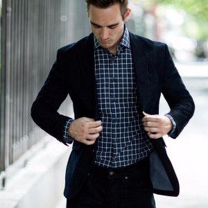 两件套仅售$99.99CK Ralph Lauren Tommy Hilfiger等品牌男士西服套装特卖