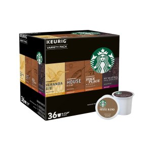 Starbucks Variety Pack 36-Count Coffee Pods