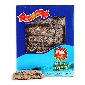 WOHO American Wild Caught Sea Cucumber Medium- 4 Oz
