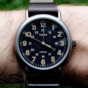 $24.76 (原价$62.00) 近期低价Timex Weekender 复古中性腕表