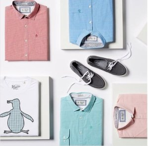 As Low As $9.99Original Penguin Men's Clothing Sale