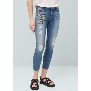 Skinny regular queens jeans - Women | OUTLET USA