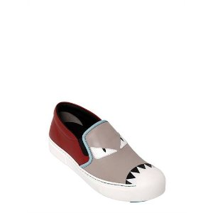 20MM MONSTER LEATHER SLIP-ON SNEAKERS
