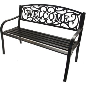 Better Homes and Gardens Welcome Garden Bench  by Better Homes and Gardens
