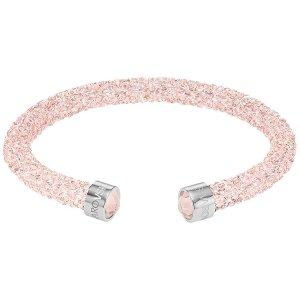 Crystaldust Cuff, Pink - Jewelry - Swarovski Online Shop