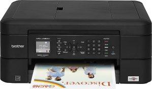 $39.99(原价$89.99)Brother MFC-J485DW 多功能无线喷墨打印机