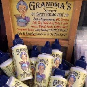 ¥79包邮包税最后一天:Grandma's Secret去污渍清洁剂*3瓶