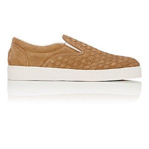Bottega Veneta Intrecciato Slip-On Sneakers | Barneys New York