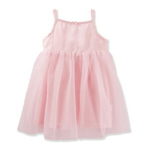 OshKosh B'gosh® 2-Piece Sleeveless Tutu Skirt Dress and Diaper Cover Set in Pink