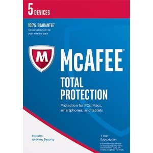FreeMcAfee Total Protection 2017 - 5 Device