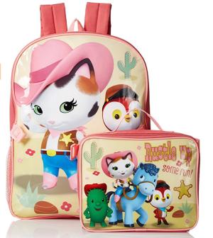 白菜价 $7迪士尼 Sheriff Callie 图案 儿童背包和午餐包套装