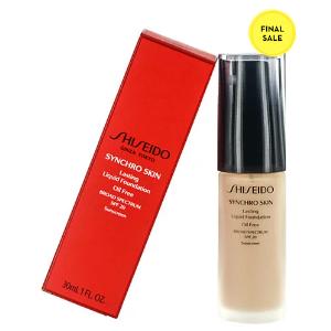 Rue La La — Shiseido 1oz Synchro Skin Lasting Liquid Foundation SPF 20