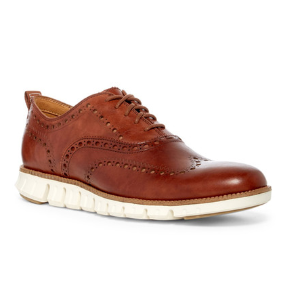 Cole Haan | ZeroGrand Wingtip Derby - Wide Width Available | Nordstrom Rack