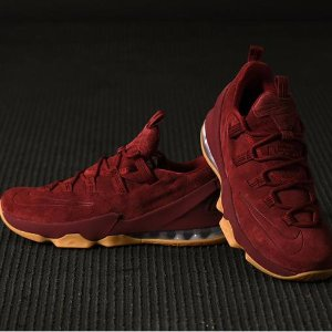 Nike LeBron 13 Low Premium Team Red