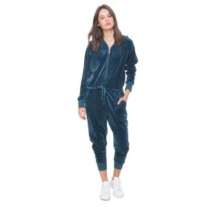 Ultra Luxe Velour Charm Pull Jumpsuit