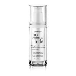 no reason to hide total skin tone correcting serum - 1.0 oz.