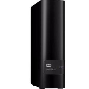 $149.99 (原价$299.99)黒五价:WD easystore 8TB外置USB 3.0硬盘 - 黑色