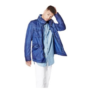 Roth Nylon Jacket at Guess